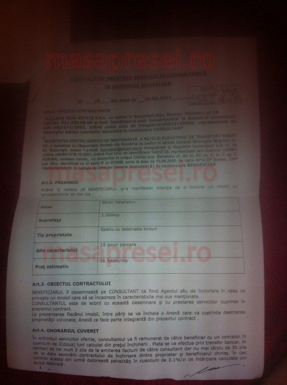 document firma imobiliara
